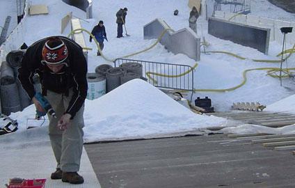 Eventmaterial von snow+promotion bietet eine breite Palette von hochwertigen Material