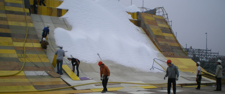 Hochwertiges Eventmaterial als Basis für perfekte Wintersportveranstaltungen und Schnee-Events