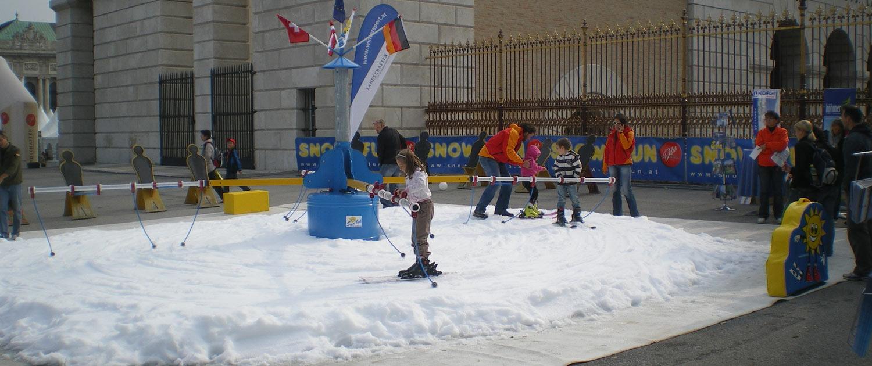 Schnee-Attraktionen zu jeder Jahreszeit