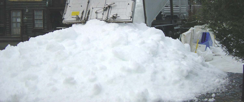 snow+promotion liefert Ihnen Schnee für Ihre Veranstaltung