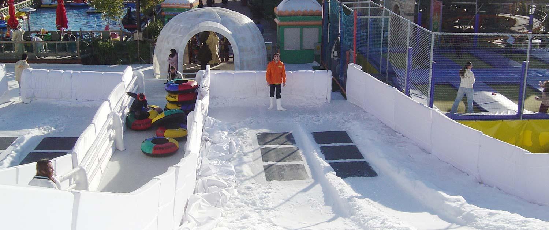 snow+promotion plant und liefert Schneerampen für Sommer und Winter