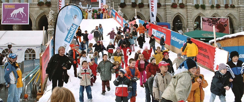 snow+promotion plant und liefert Rodel- und Skirampen